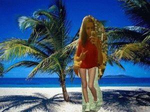 Пляжное фото