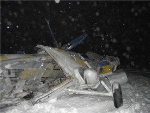 Авария вертолёта