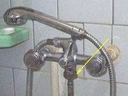 Подключение стиральной машинки через душ