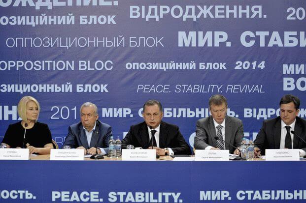 партія розвитку і партія регіонів