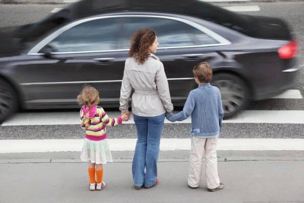 авто и пешеходы